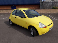 2007(57)FORD KA 1.3i STYLE YELLOW,NEW MOT,LOW MILES,GREAT RUNNER,CHEAP CAR