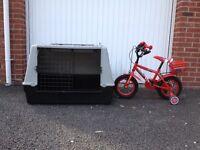 Large dog kennel/cage