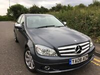 2008 Mercedes-Benz C Class 2.1 C200 CDI SE 4dr 12 Months Mot Low Mileage
