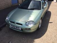 Mgf sports car cabriolet spares or repairs