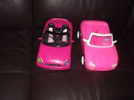 2 X barbie cars collect or delivery Stonehaven only no postage