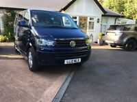VW T5 volkswagen transporter campervan low mileage 2012