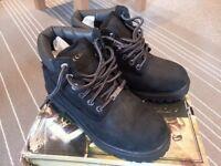 Skechers Sergeants Verdict Black Waterproof Men Boots