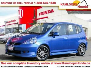 2007 Honda Fit Sport - Intelligently Designed Interior