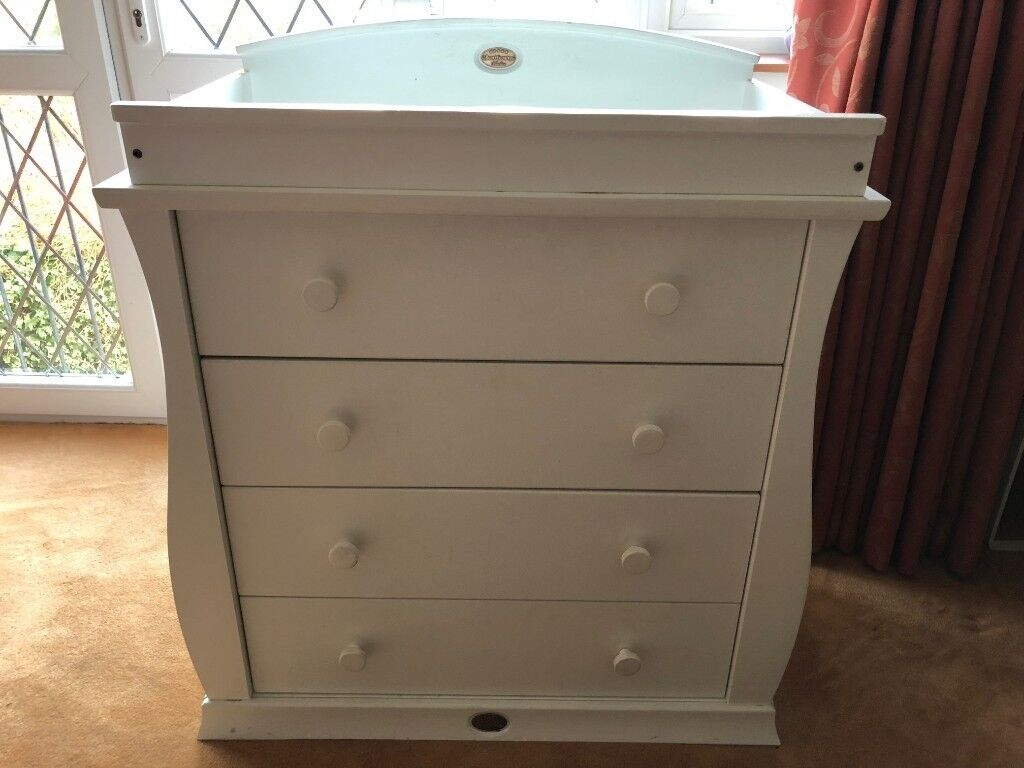 Boori Sleigh  Drawer Chest Changing Unit