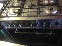 Indesit Range Gas Cooker dual ...90cm. Mint free delivery