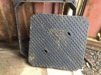 Heavy Duty Inspection Cover EN124 D400 Ductile Iron