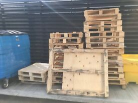 Composite & Real Wood Pallets - Free to collect
