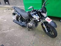 Lexmoto assault 125cc geared, learner legal