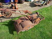 howard bantam rotavator/ tractor allotment plot tiller + tecumseh + brimotor eng