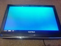 """MATSUI 26"""" TV - HD, Freeview, Digital - Works great! no stand/remote"""
