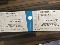 2 standing Stone Roses tickets for hampden