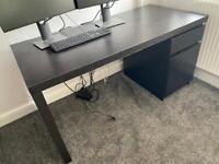 IKEA Malm desk 1400x650x730