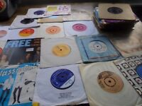 "Vinyl for sale around 6 7"" records"