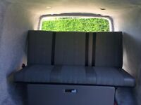 VW T5 Full Width Rock and Roll Bed
