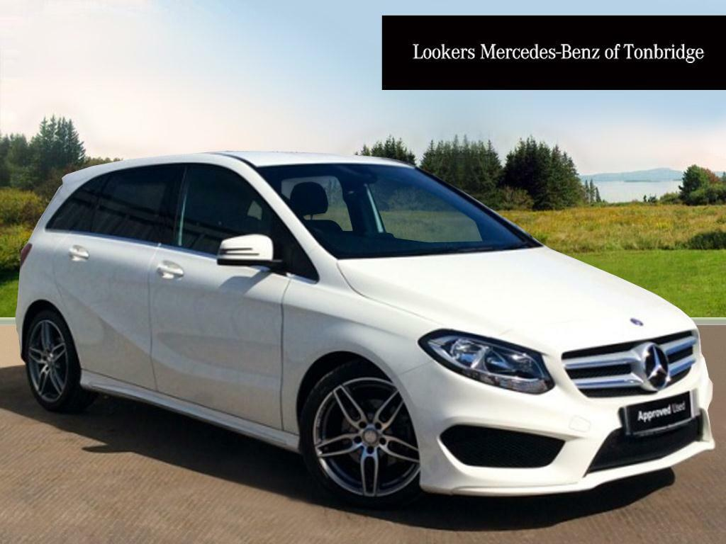 mercedes benz b class b 180 d amg line white 2016 03 31 in tonbridge kent gumtree. Black Bedroom Furniture Sets. Home Design Ideas