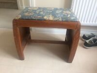 Old refurbished vintage bench unique item /Dining, Living Room Furniture / Dining Tables & Chairs