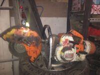 Stihl Saw TS350 disc cutter saw