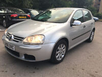 VW Volkswagen Golf 1.6 SE 2006, 86,000 Miles, HPI Clear