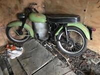 Motorbike bsa project