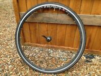 Verenti front and rear wheels for racing bike very light construction straight and true