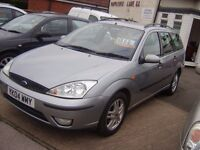 FORD FOCUS EST O4REG MOT APRIL 2018/ONE FORMER KEEPER.