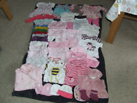 Baby clothes 0-3 months(girl)