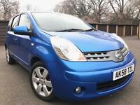 Nissan Note TEKNA 1.6 Petrol AUTOMATIC MOT- 4 April 2018 Mileage-118200 2 owner from new
