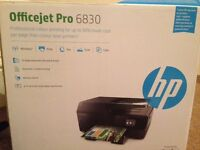 Absolute bargain! NEW HP Officejet Pro 6830 Wireless Printer/Fax/Scan/Copy - Inc paper and ink £45