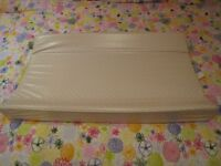 Wedge Shaped Changing Matt - fits on top of baby cot