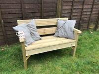 Sturdy Double garden Bench