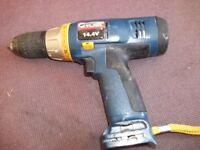 14.4 V RYOBI drill (body only)