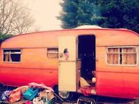 5 berth vintage retro caravan trailer