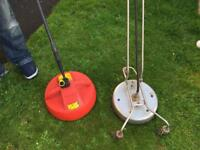 2 Rotational Power washer surface cleaners/guards