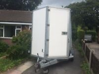 IFOR WILLIAMS BOX TRAILER .BV106G EXCELLENT CONDITION