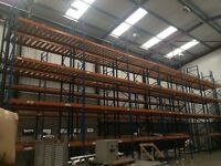 Dexion Pallet Racking 6.6M Tall x 2.7M Wide x 0.9M Deep - 32 Frames with Shelves