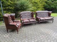 Chesterfield Leather Pieces ** Wanted **