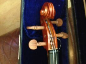 Violin and case ..
