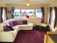Top of the range double glazed central heated static caravan sale - 30 mins from lake district