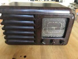 Vintage 30/40's radio 'Fullotone'. Excellent condition