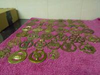 34 horse brasses
