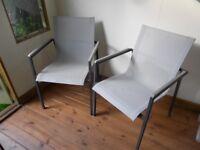 John Lewis Garden Chairs x 2