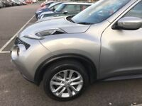 Nissan Juke 1.6 MINT CONDITION, 1 YEAR WARRANTY FROM DEALERSHIP! LOW MILEAGE £9700