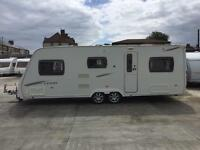 RARE!!! 2010 Lunar Lexon Tl. 6 Berth twin axle with full awning. Spacious family caravan.