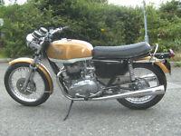 Matching number 1973 Triumph Bonniville