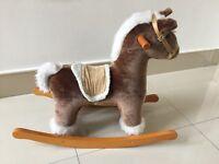 Mamas & Papas wooden rocking horse