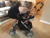 Travel System Pram and Carseat