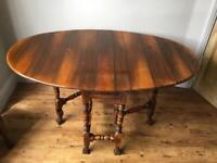 Barker & Stonehouse Folding Dining table