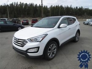 2016 Hyundai Santa Fe Sport SE All Wheel Drive - 15,345 KMs