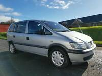 Vauxhall Zafira 1.6 7 Seater, MOT'd August 2017! Only 90,000 Miles, Great Car!
